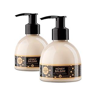 41r%2BQDUWweL. SS300  - Leabags Honey Bálsamo piel cuidado Loción para todo tipo de de grasa y lisa Piel Pack de 3