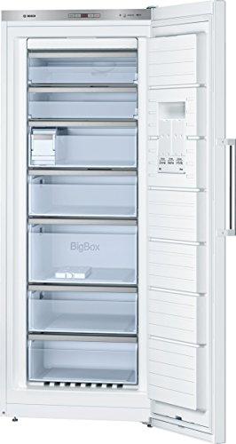Bosch GSN54AW41 Serie 6 Gefrierschrank / A+++ / 187 kWh/Jahr / 176 cm Höhe / Weiß / 323 L Gefrierteil / LED-Beleuchtung