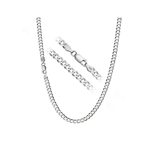designer-inspired-diamond-cut-4mm-curb-22-inches-chain-necklace-105g-sterling-silver-925-plated-by-d