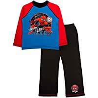 Spiderman Kids Boys Pyjamas Marvel Pyjama Set 2 Piece PJS Long Childrens Size UK 1-10 Years