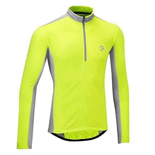 tenn-outdoors-mens-coolflo-long-sleeve-cycling-jersey-hi-viz-yellow-grey-38-40-inch-small