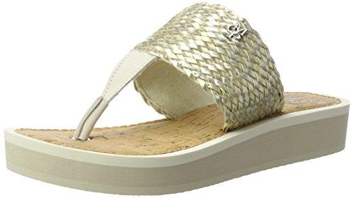 Marc OPolo 70314031004607 Beach Sandal, Sandales Bout Ouvert Femme Elfenbein (champange)