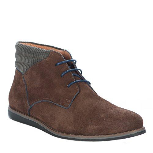 Chaussures à lacet homme - SCHMOOVE - Marron - ANALOG MID CUT - Millim Marron
