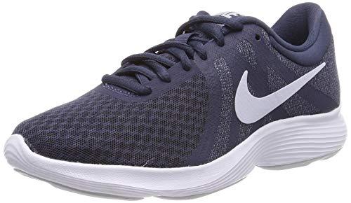 Nike Damen WMNS Revolution 4 EU Laufschuhe, Mehrfarbig (Thunder Blue/Football Grey/Ashen Slate 404), 40