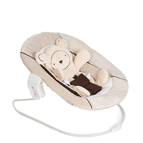 Hauck 661895 Alpha Bouncer 2 in 1, Babywippe, beige