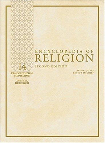 Encyclopedia of Religion, 15 Volume Set (2004-12-17) par Unknown