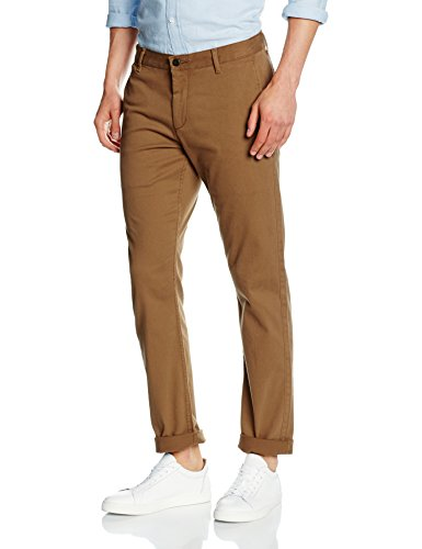 Dockers Pacific - Slim Tapered, Pantaloni Uomo, Marrone (Tobacco), 32/34(UK)