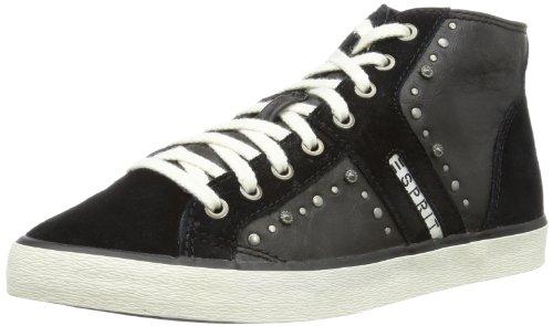 ESPRIT Sonia Studs Lu Bootie T13111 Damen Sneaker Schwarz (001 Black)