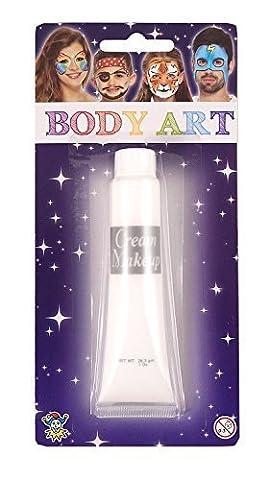 Maquillage Halloween Pour Les Filles - Pour Hommes Femmes Garçon Fille Blanc Peinture