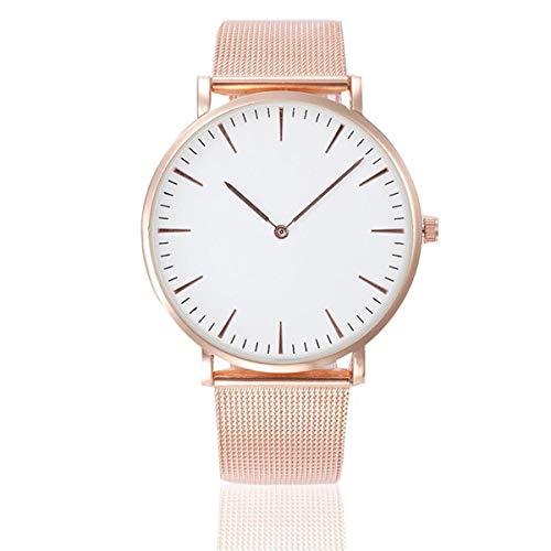 Uhrenarmband Armbanduhr Damen Uhren Wrist watch Steel Armband Casual Uhren Armbanduhr Armband Uhren Überwachung Watch Stahl Analoge Quarz Armbanduhr Uhr Uhrenarmband Uhren Armbanduhren LMMVP (Gold)