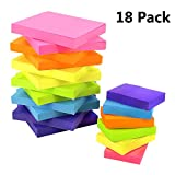 Outuxed 18 set Haftstreifen Haftnotizen Vielfarbige Pagemarker Selbstklebende Notizzettel Index Tabs Sticky Notes pad