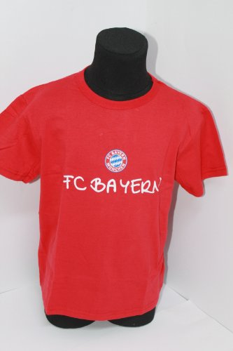 FCB Shirt T-Shirt Fan Kleinkind Gr. 68-116 FC Bayern München, Größe:68 (T-shirt Kleinkind Fan)