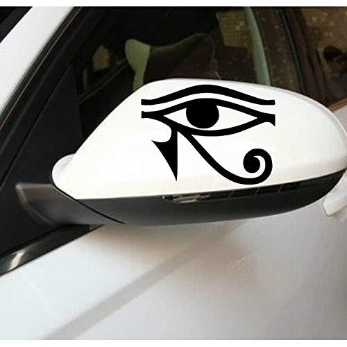 sswymx Hot Wandaufkleber Auto Styling Wasserdicht Aufkleber Auto Aufkleber Auge Von Ra Horus Ägyptischen Gott Vinyl Aufkleber Fenster Aufkleber Für Auto A-186 10 * 78cm
