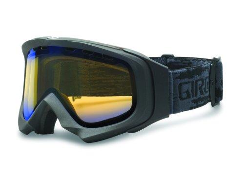 Giro Ski Snowboard Brille SCORE, Dark Titanium / Skullpile, Super Fit Full Size, Gold Boost 75%