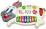 #2: Rabbits Musical Piano With 3 Modes Animal Sounds, Flashing Lights & Wonderful Music