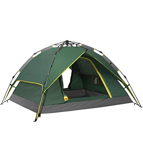 TonXiory Hydraulische automatik Zelt,Outdoor-Camping Zelt Strand Picknick Sonnenschutz Freizeit Zelt Sonne unterstände mit einfachem Setup-grün 200x180x125cm(79x71x49inch)