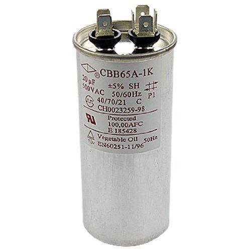 DealMux AC 500V 20uF Air Conditioner Polypropylene Film Capacitor CBB65A (Air Conditioner Film)