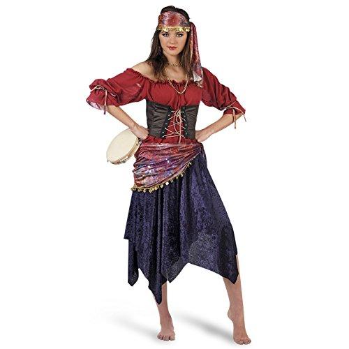 Imagen de limit sport  disfraz de zíngara para adultos, talla l ma661