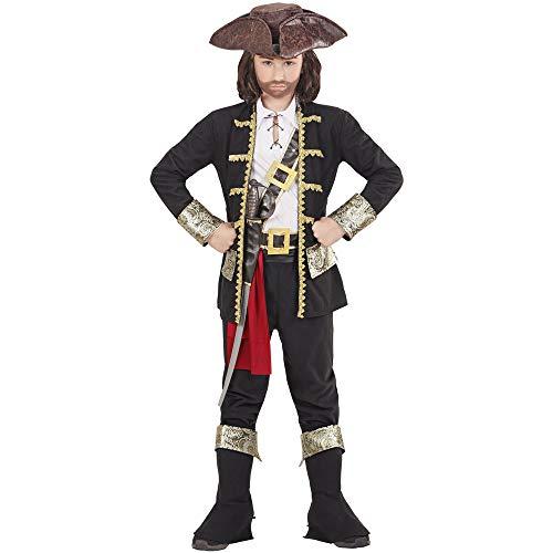 Widmann 15279 Kinderkostüm Piraten Kapitän, Jungen, Mehrfarbig