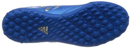 adidas Messi 16.4 Tf J H&L, Scarpe da Calcio Bambino Blu (shock Blue/matte Silver/core Black)