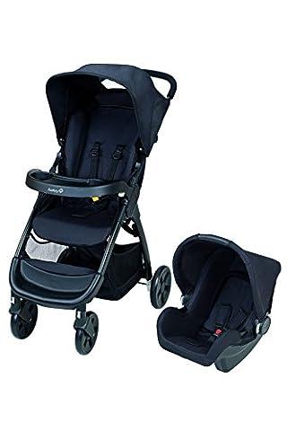 Safety 1st Amble TS Kombi-Kinderwagen inklusive leichter Babyschale, Ein-Hand-Klappmechanismus, ab