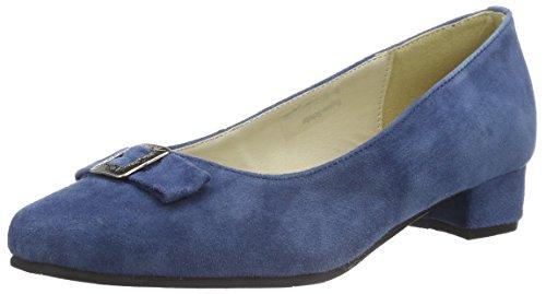 Hirschkogel by Andrea Conti Damen 3002723 Pumps, Blau (Jeans 274), 39 EU