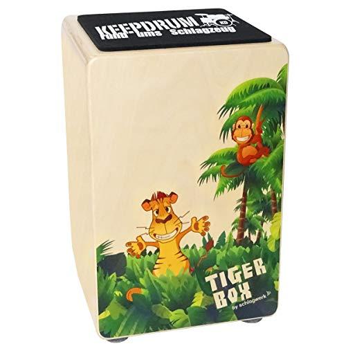 Schlagwerk CP400 Tigerbox Kinder-Cajon + keepdrum Cajon-Sitzpad