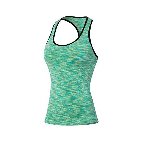 Balai Donne Sport Fitness Yoga Tops Cami Stretch maglietta Secco Vest Allenamento Veloce Parti Superiori Delle Signore Della Maglia Non Cerchi Canotte