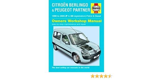 citroen berlingo 2007 workshop manual