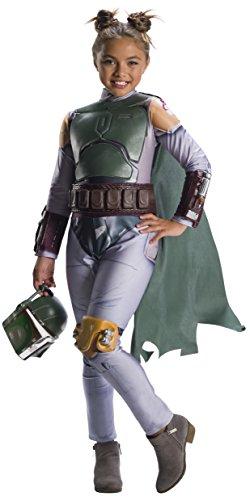 STAR WARS Classic Boba Fett Girl'S Costume - Medium