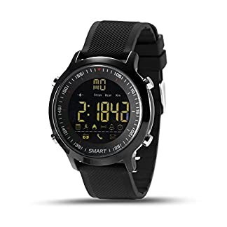kxcd-Bluetooth-Smart-Watch-EX18-Bluetooth-40-Smart-Watch-5-ATM-wasserdicht-kompatibel-mit-Android-iOS-System-Smartwatch-Schrittzhler-Schwimmen-Sleep-Monitor-Call-SMS-Reminder-Armbanduhr