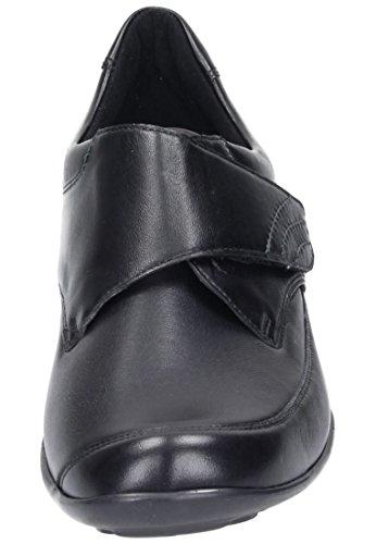 Waldl?ufer Damen Slipper, Mokassins schwarz, 941595-1 schwarz
