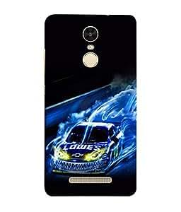 PrintVisa Designer Back Case Cover for Xiaomi Redmi Note 3 :: Xiaomi Redmi Note 3 Pro :: Xiaomi Redmi Note 3 MediaTek (Speed Dirt Racing)