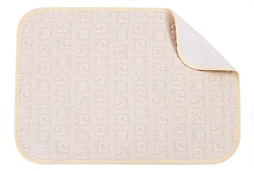 Tellw cotone organico per neonati in tutto il cuscino in cotone impermeabile traspirante letto per bambini super autunno inverno ed estate Dimensioni 40cm*60cm