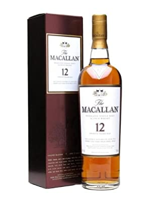 Macallan 12 Year Old / Sherry Oak / 70cl