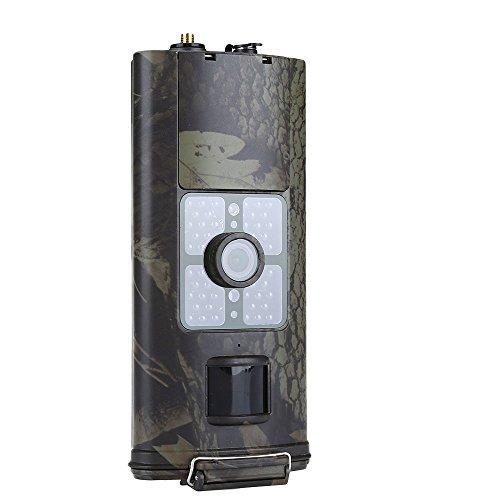 HC-700G 3G Caméra de Chasse de Vision Nocturne pour Surveillance 16MP 1080p fonction de MMS / SMTP 120 degrées écran de 2.0 pouces avec 48pc de LED IR