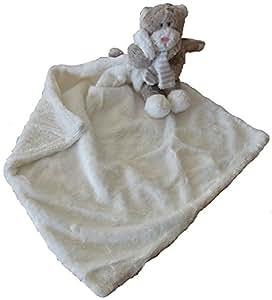La Galleria - Doudou Chat avec couverture en mains - 48 cm - IGG-0403