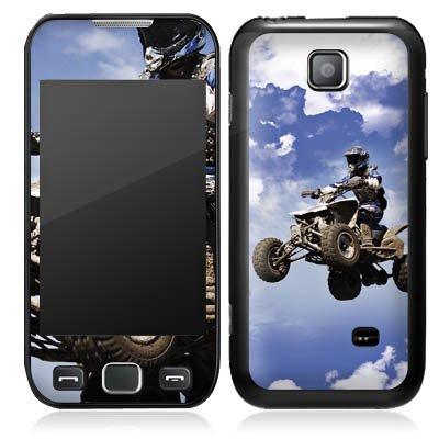 533 Quad (DeinDesign Samsung Wave 533 Case Skin Sticker aus Vinyl-Folie Aufkleber Quad Motocross Sport)