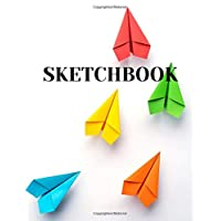 Sketchbook: 8.5 x 11 Blank Sketch Book For Sketching, Drawing, Doodling (100 pages)