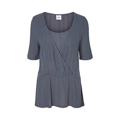 MAMA LICIOUS® Le T-shirt de grossesse et d'allaitement T-shirt de grossesse T-shirt de grossesse Bleu