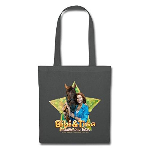 Spreadshirt Bibi Und TinaTohuwabohu Total Amadeus Stoffbeutel Graphite
