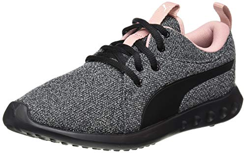 Puma Carson 2 Knit NM Wns', Scarpe Running Donna, Nero Black White-Bridal Rose, 38 EU