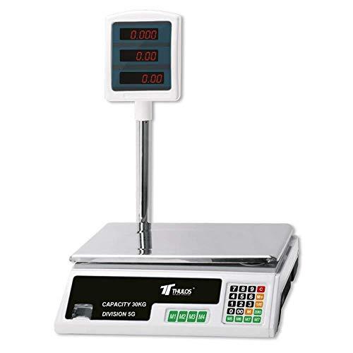 BASCULA comercio DIGITAL 30 KG máxima calidad electrónica