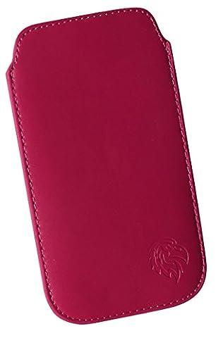 Schutz-Tasche passend fuer Samsung Galaxy S3 mini, Pull-tab Handy-Huelle herausziehbar,