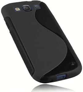 mumbi S-TPU Silikon Schutzhülle Samsung Galaxy S3 Hülle schwarz