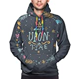 flys Men's Hoodie Vector, Clip Art, Hand Drawn. Once Upon A Time Sweatshirt,XXL