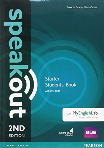 Speakout 2nd Edition Extra Starter Students Book/DVD-ROM/MyLab/Study Booster Spain Pack REVISED