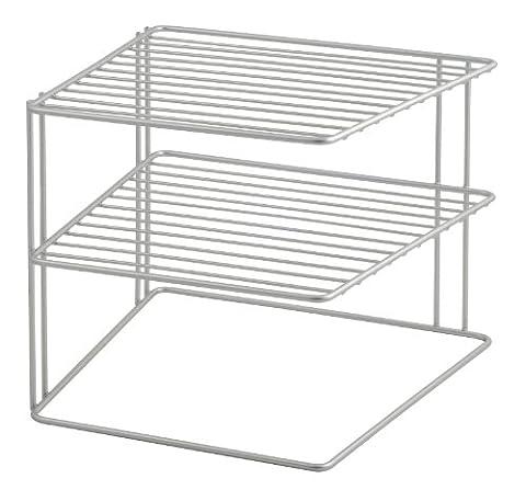 Metaltex Palio Corner Rack, Silver