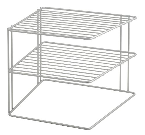 Metaltex Palio - Rinconera de 3 estantes, color gris