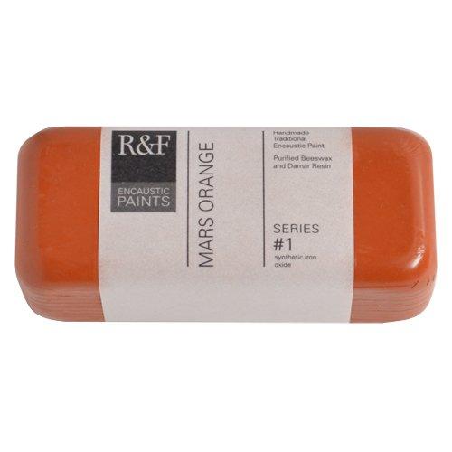 R & F Encaustic 104Ml Mars Arancione
